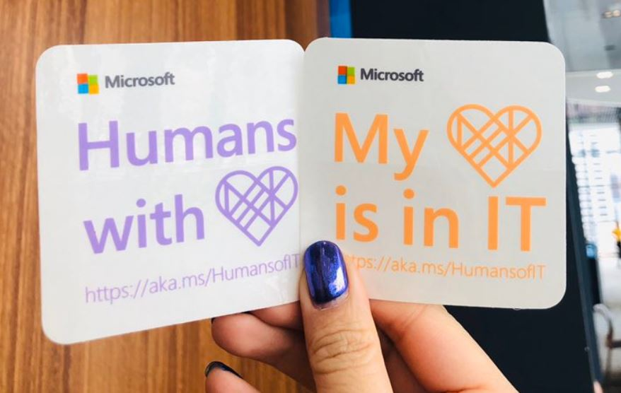 Humans of IT stickers